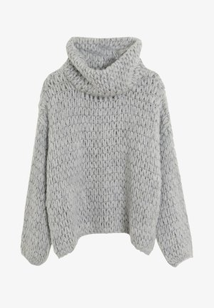 NEST - Strikpullover /Striktrøjer - light grey
