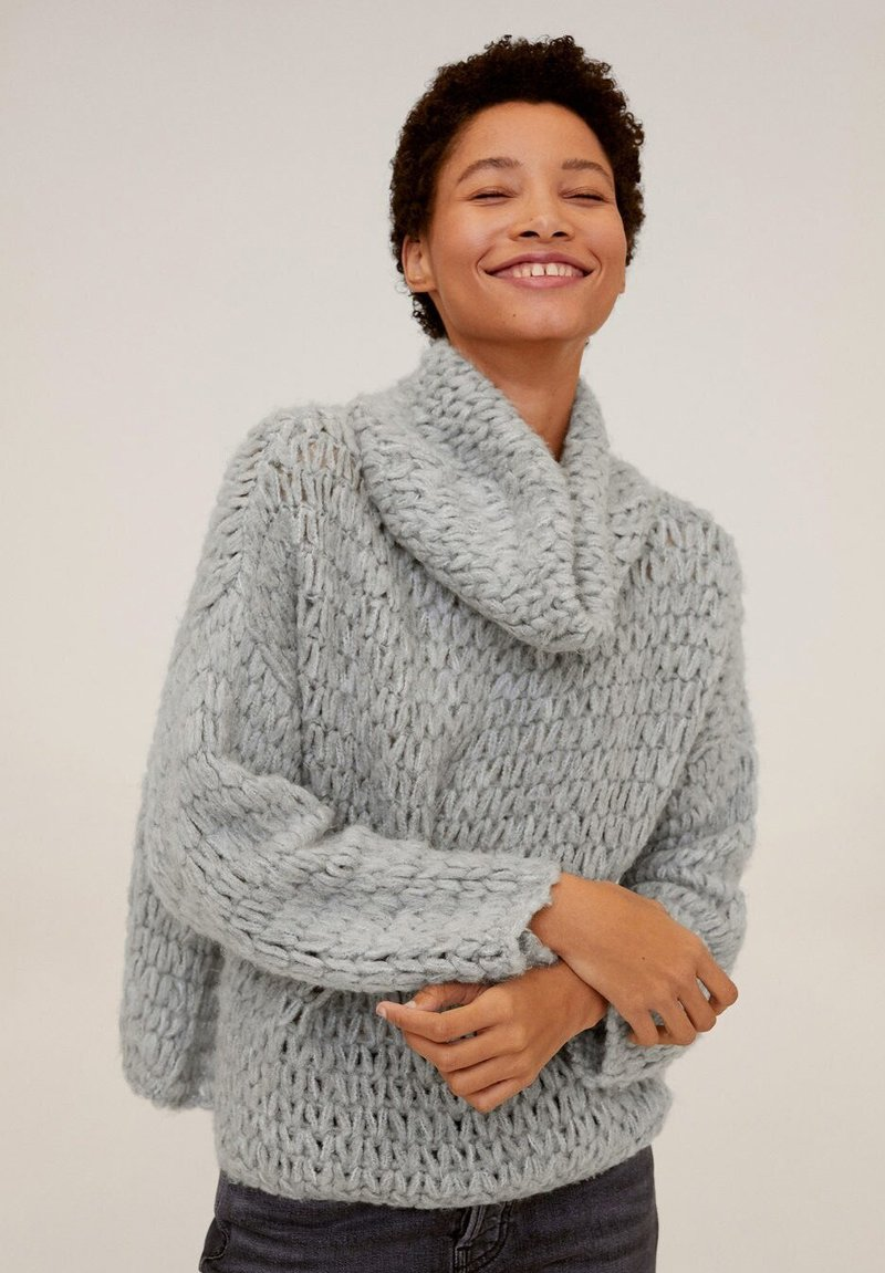 Mango - NEST - Maglione - light grey