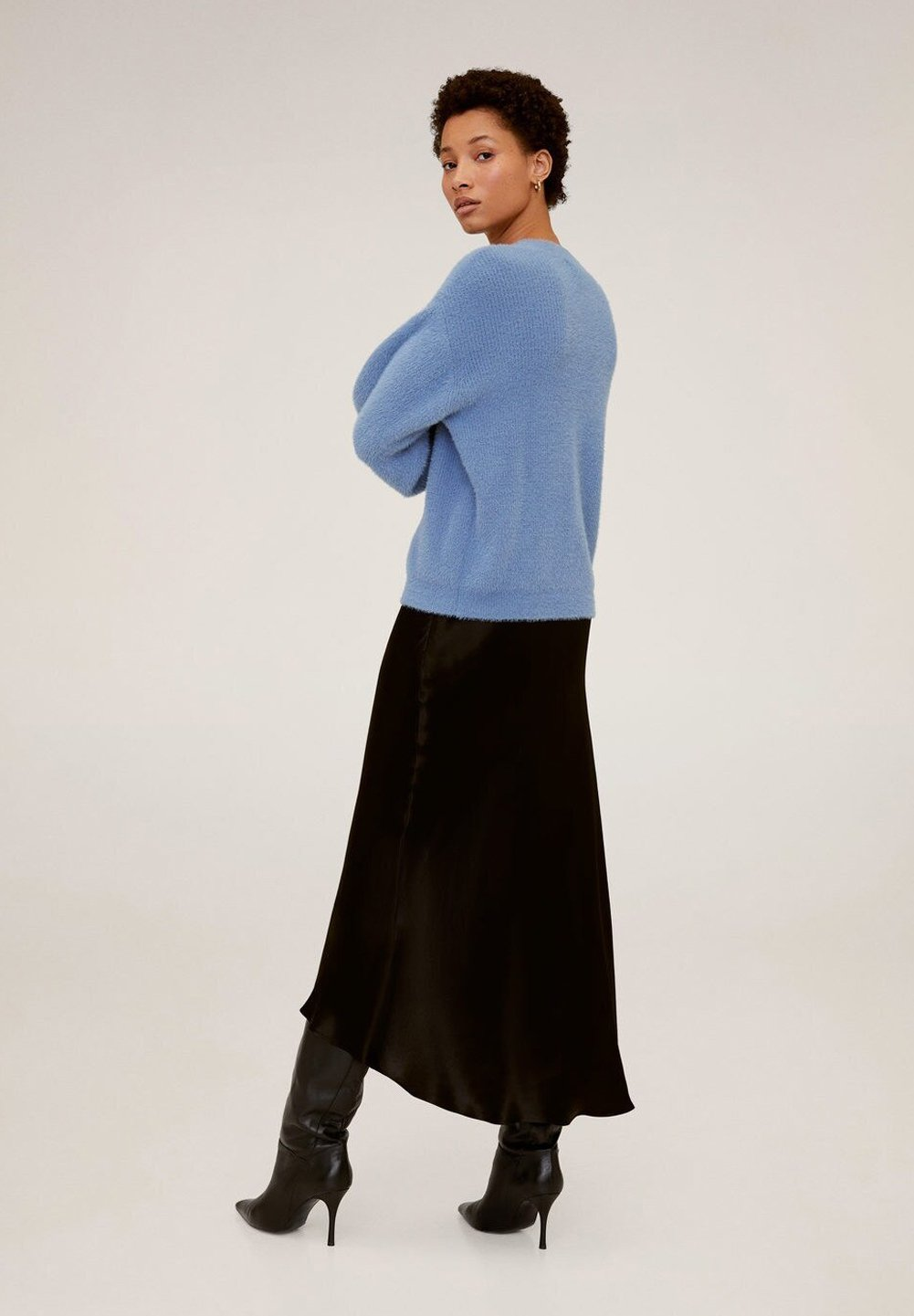 Mango Platero - Pullover Blue