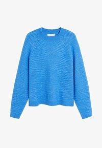 Mango - CONFORT - Sweter - blue - 3