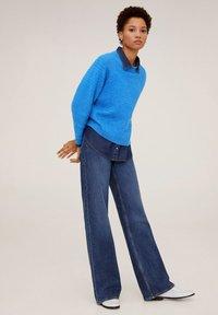 Mango - CONFORT - Sweter - blue - 1