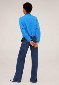 Mango - CONFORT - Sweter - blue - 2