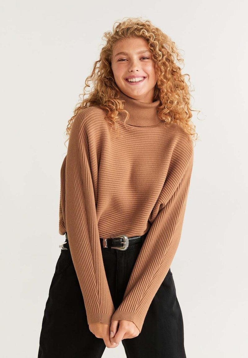 Mango - CARAVANC - Jumper - medium brown
