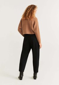 Mango - CARAVANC - Jumper - medium brown - 2