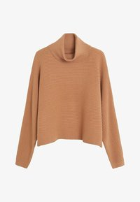 Mango - CARAVANC - Jumper - medium brown - 3