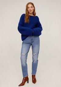 Mango - BRAVA - Strickpullover - blue - 1