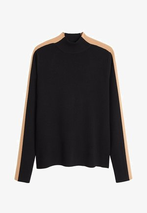 OLIMPIA - Pullover - black