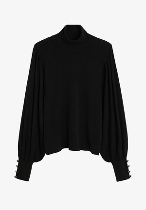 BASIL - Jumper - black