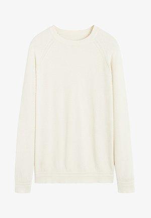 MIX - Pullover - cremeweiß