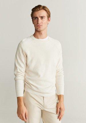 MIX - Sweter - cremeweiß