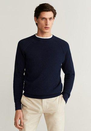 MIX - Pullover - marineblau