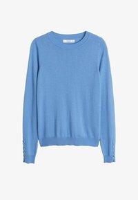 Mango - CRUZ - Sweter - himmelblau - 3