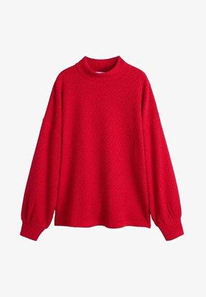 CHENI - Pullover - korallrot