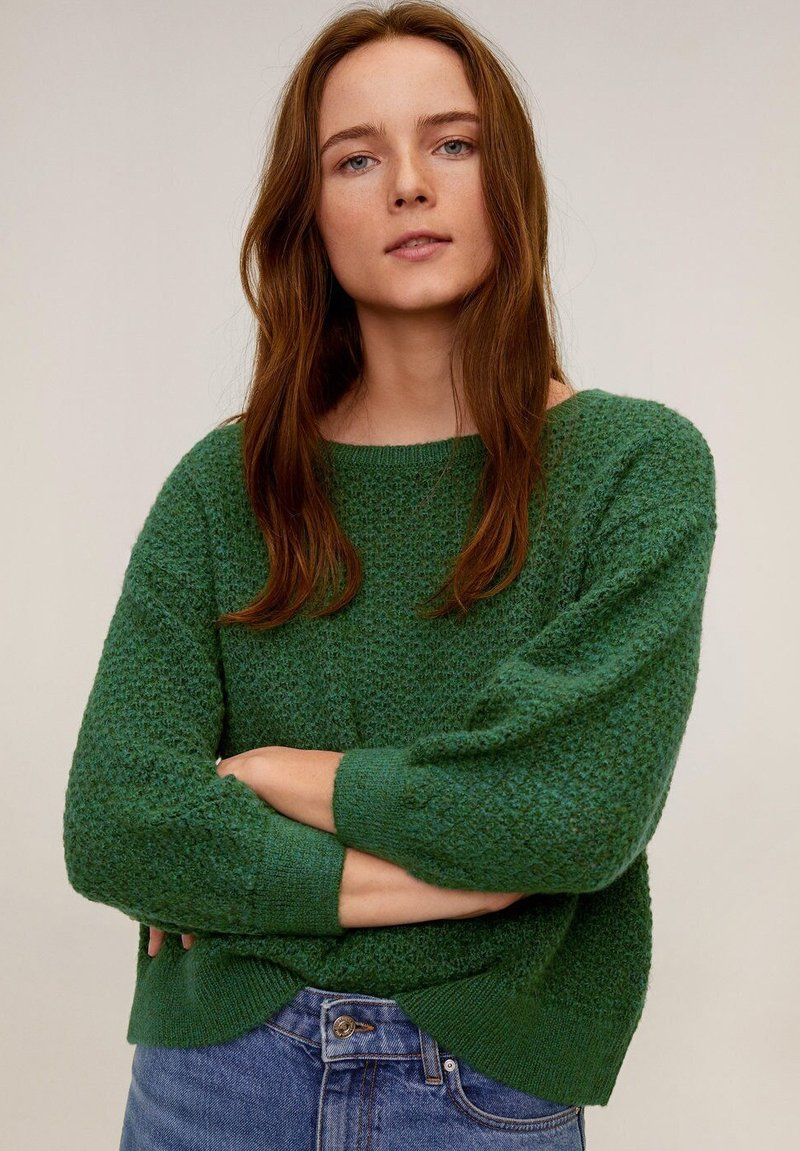 Mango - SPRINT - Pullover - grün