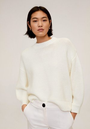 LEMONY - Sweter - ecru