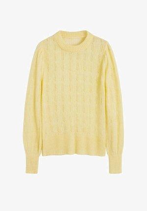 ROCIO - Trui - pastel yellow