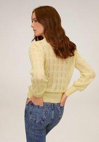 Mango - ROCIO - Sweter - pastel yellow - 2