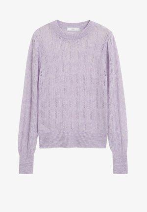 ROCIO - Strickpullover - light purple/pastel purple