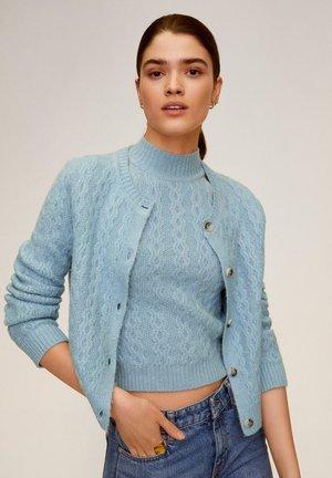 TWINS - Cardigan - blau