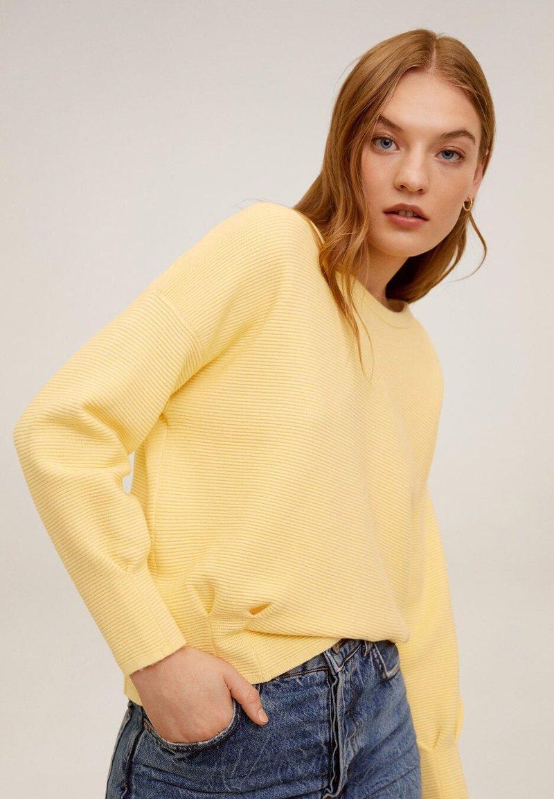 Mango - OTTI - Sweter - pastellgelb
