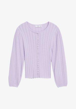 NOELIA - Cardigan - violet clair/pastel