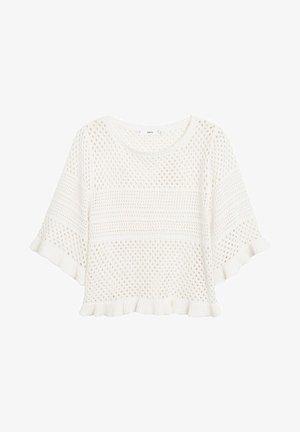 PALE - T-shirt con stampa - ecru