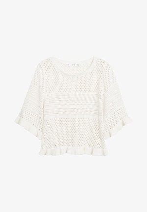 PALE - Print T-shirt - ecru