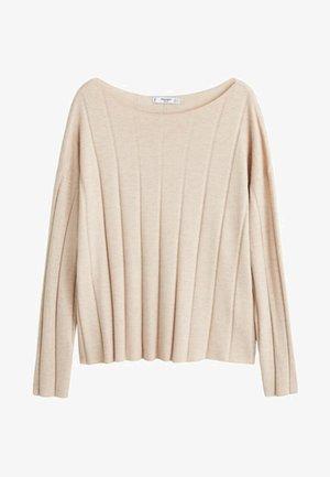 WIDIER - Sweter - light grey/pastel