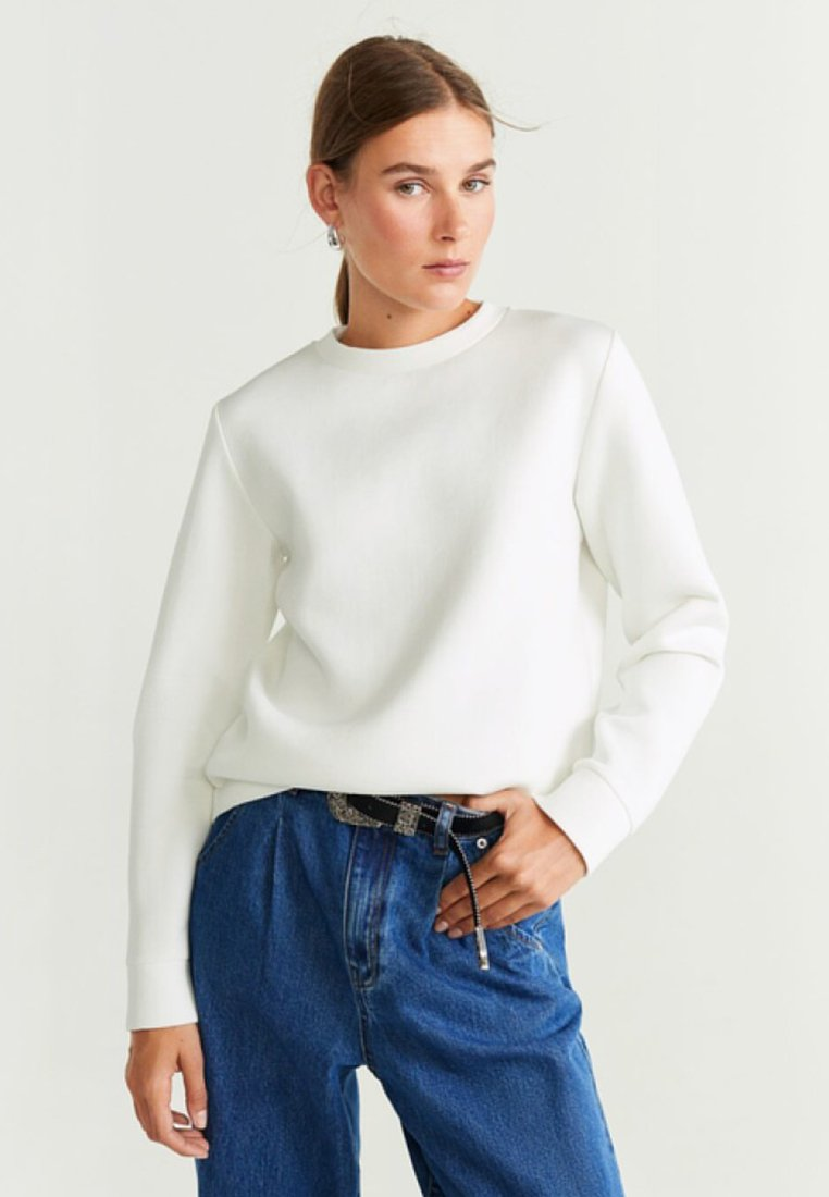 Mango - BASICNEO - Sweatshirt - off-white