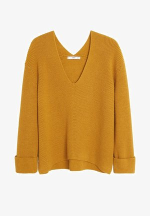 FOLD - Maglione - mustard yellow