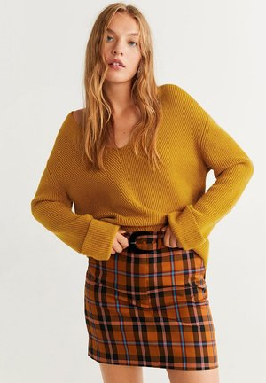 FOLD - Jumper - mustard yellow