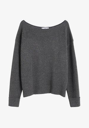 COUSIN - Pullover - mottled  dark gray