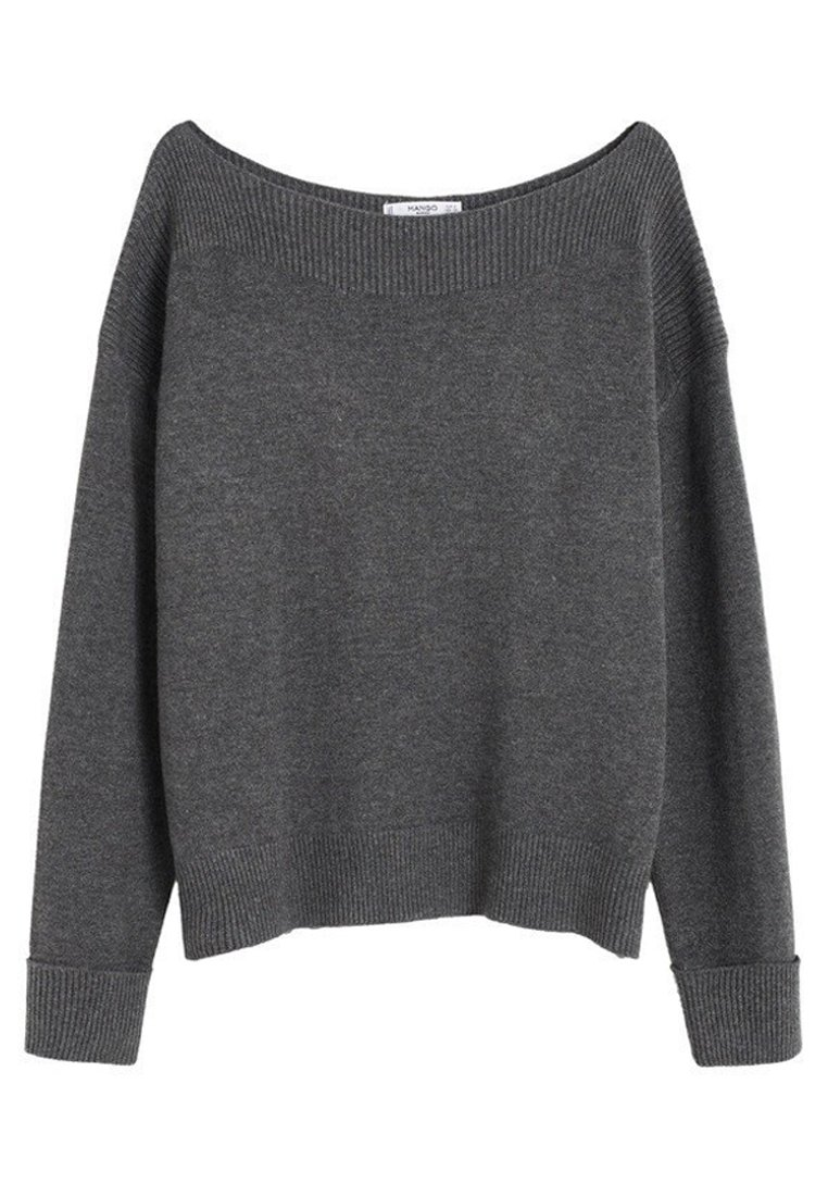 Mango - COUSIN - Strickpullover - mottled  dark gray