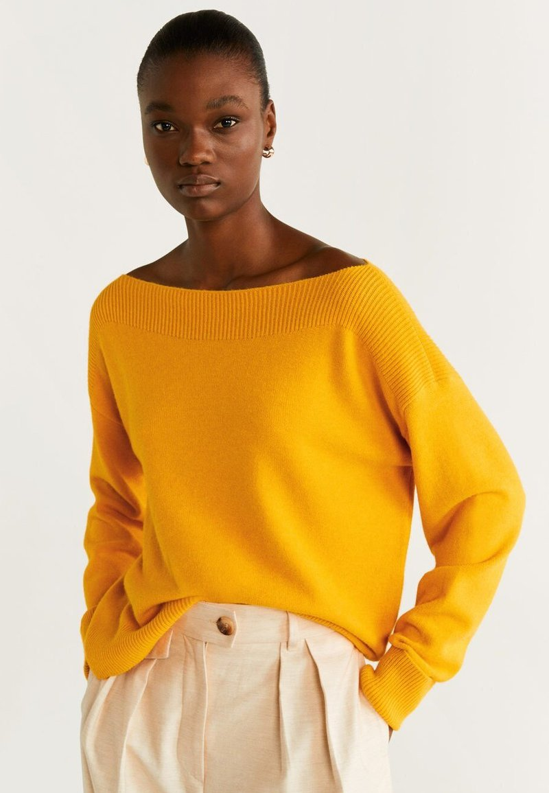 Mango - COUSIN - Jumper - yellow