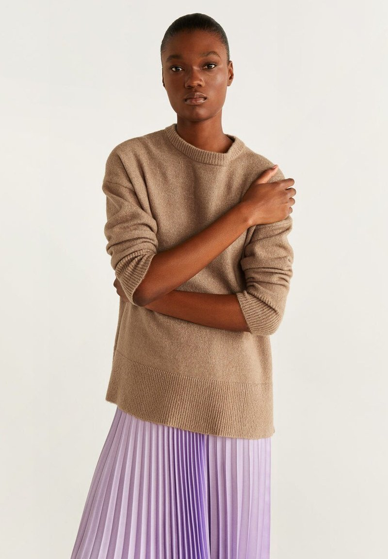 Mango - BRIGHT - Strickpullover - brown