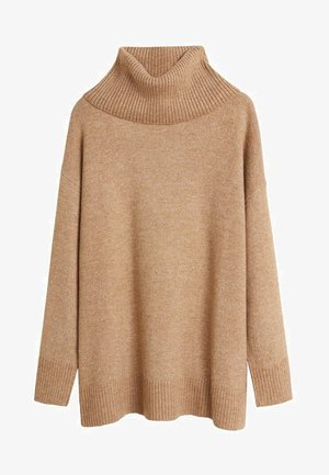 POLAR - Jumper - medium brown