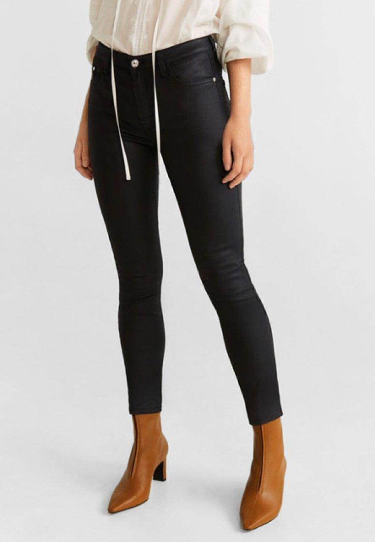 Mango - ISA - Jeans Skinny Fit - black