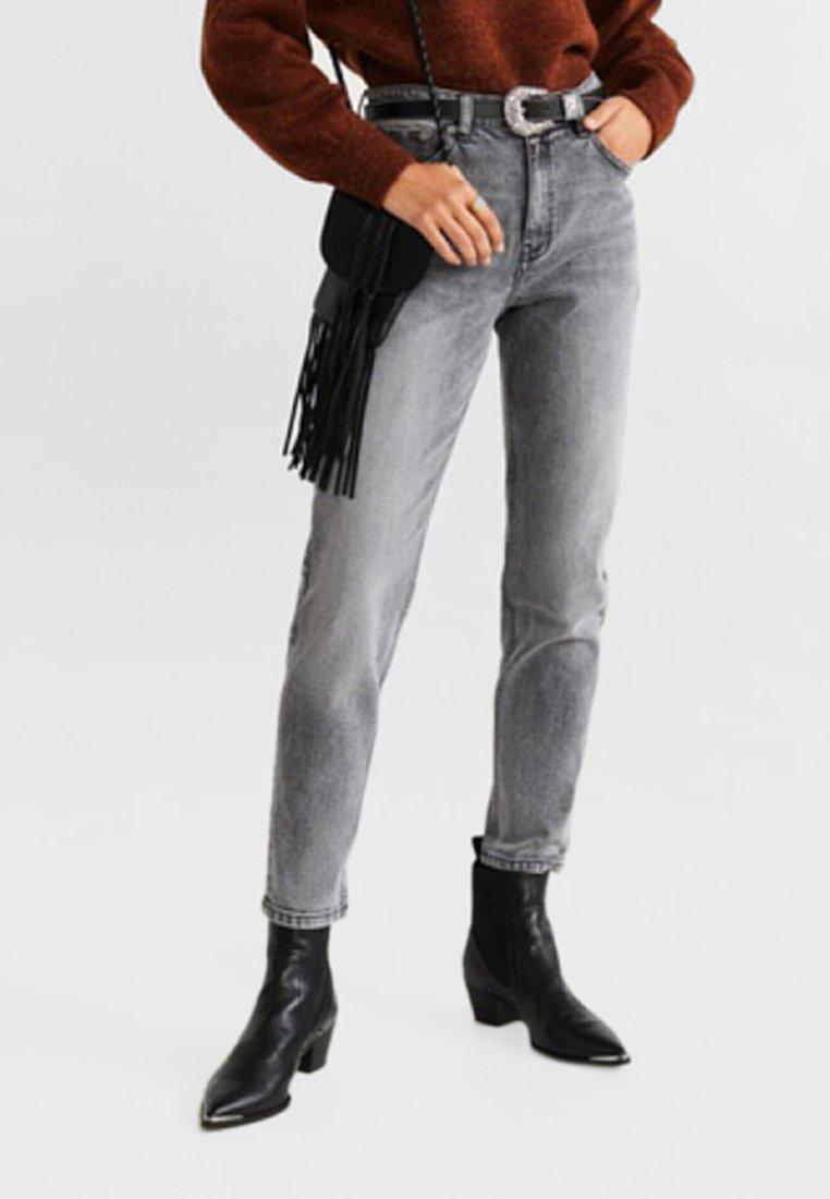 Mango - MOM - Jeans Slim Fit - grey