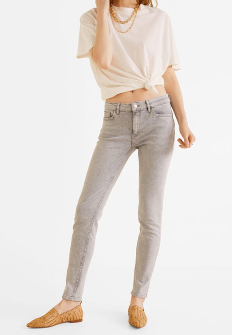 Mango - KIM - Jeans Skinny Fit - denim grey