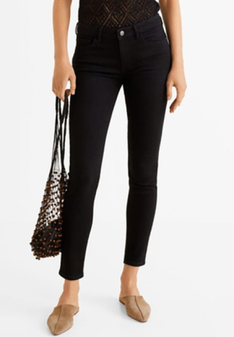 Mango - KIM - Jeans Skinny Fit - black denim