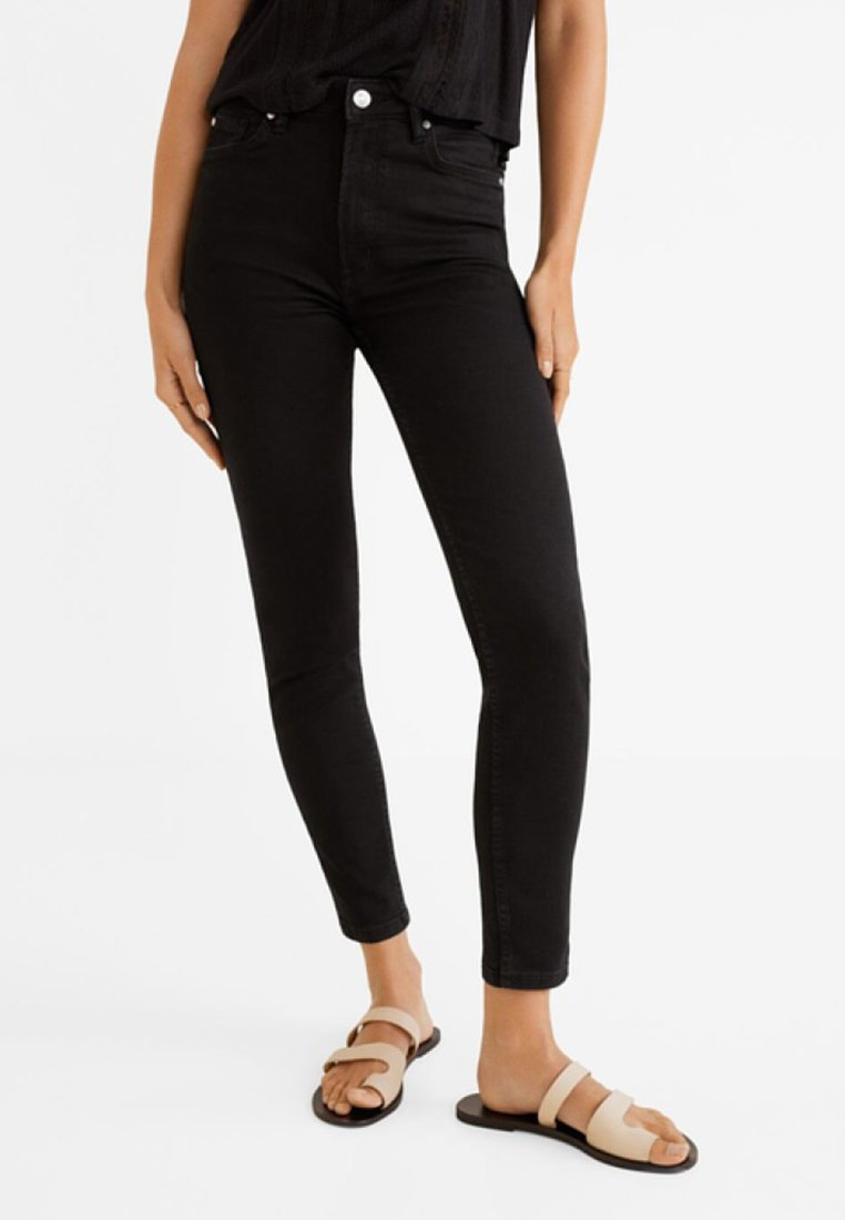 Mango - NOA - Jeans Skinny Fit - black denim