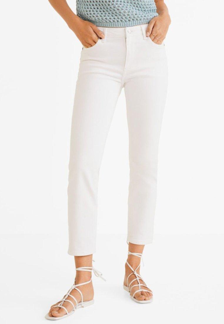 Mango - GRACE - Jeans Slim Fit - white