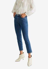 Mango - GRACE - Slim fit jeans - dark blue - 0