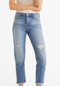 Mango - RELAX - Jeans baggy - blue - 0