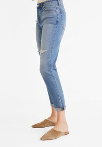 Mango - RELAX - Jeans baggy - blue - 3