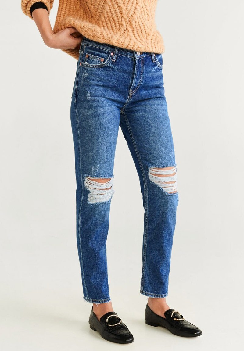 Mango - RELAX - Jeans Relaxed Fit - dark blue