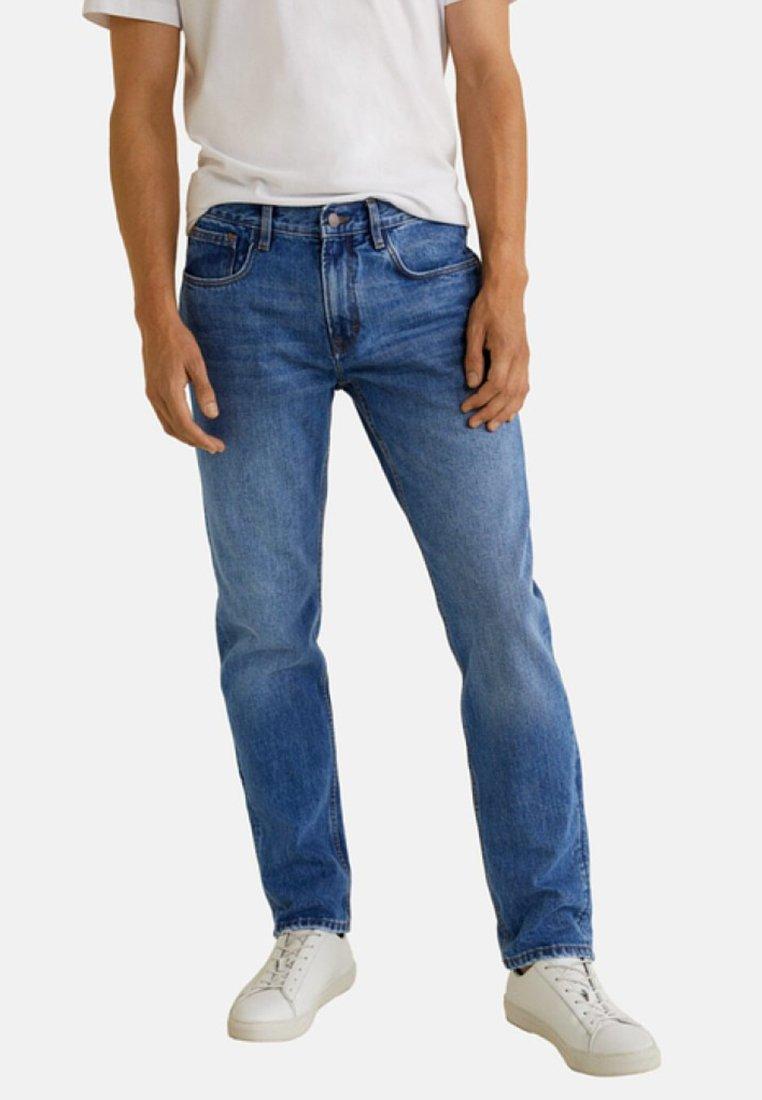 Mango - BOB - Jeansy Straight Leg - blue