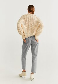 Mango - MOM - Jeansy Straight Leg - grey - 2