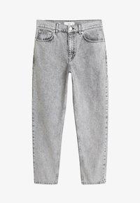 Mango - MOM - Jeansy Straight Leg - grey - 3