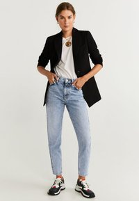 Mango - MOM - Straight leg jeans - blue - 1